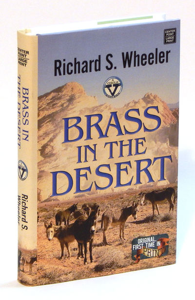 Image for Brass in the Desert (Large Print)