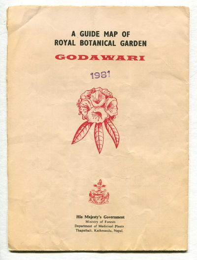 Image for A Guide Map of Royal Botanical Garden, Godawari