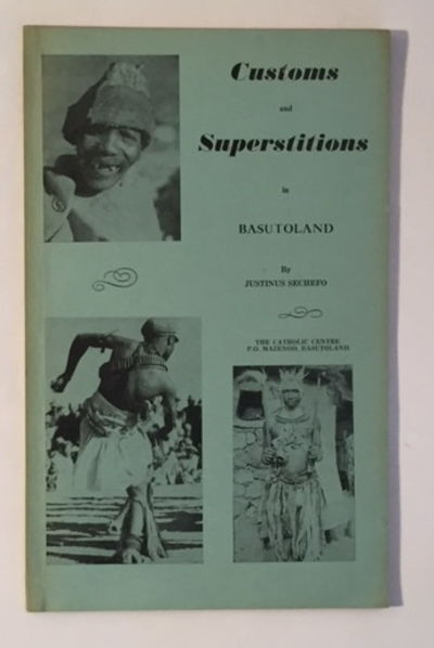 Image for Customs and Superstitions in Basutoland