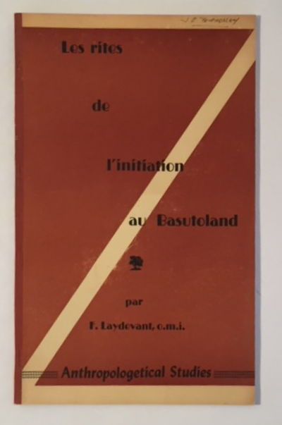 Image for Les Rites des L'Initiation au Basutoland