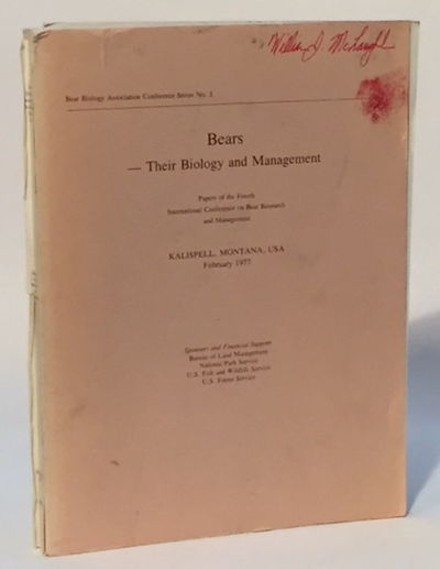 Image for Bears--Their Biology and Management Vol. 3