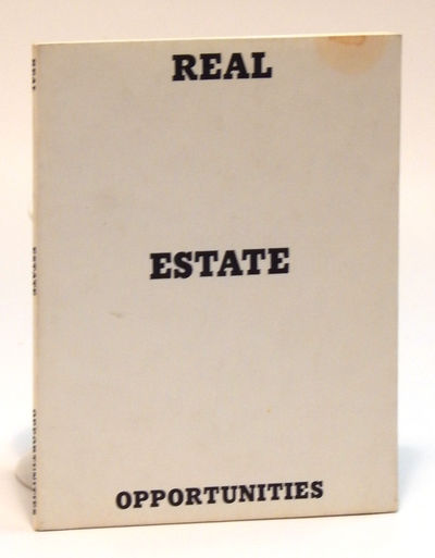 Image for Real Estate Opportunities