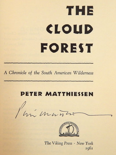 Image for The Cloud Forest: A Chronicle of the South American Wilderness