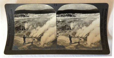 Image for Yellowstone National Park Stereoview Set