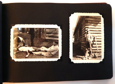 Image for Vernacular Photo Album of Yellowstone Vacation and Dude Ranch near Gardiner, Montana
