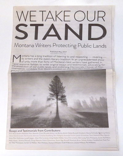 Image for We Take Our Stand: Montana Writers Protecting Public Lands