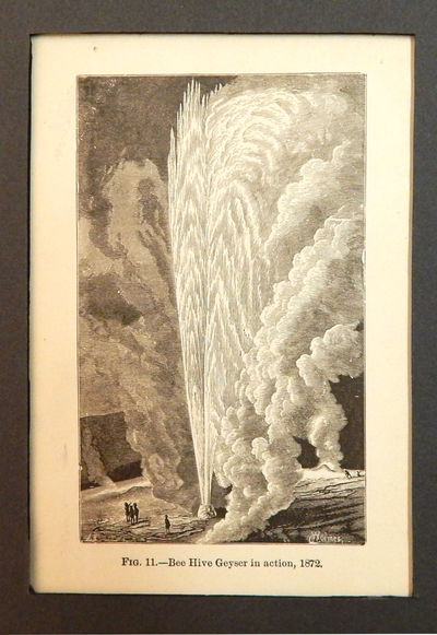 Image for Bee Hive Geyser in Action, 1872