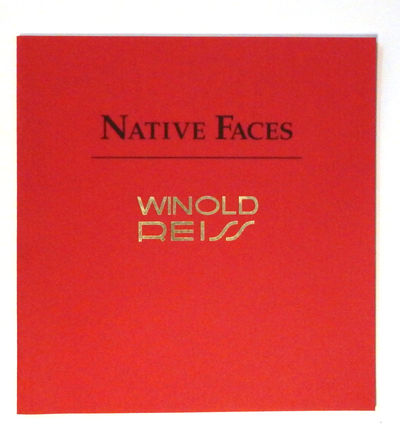 Image for Native Faces: Winold Reiss Exhibition Catalog