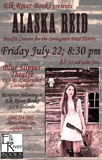 Image for Alaska Reid Concert Poster, 22 July 2011