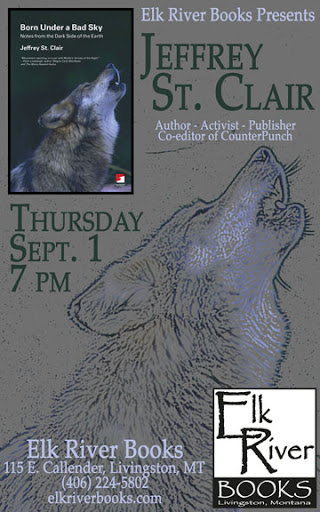 Image for Jeffrey St. Clair Poster, 01 September 2011