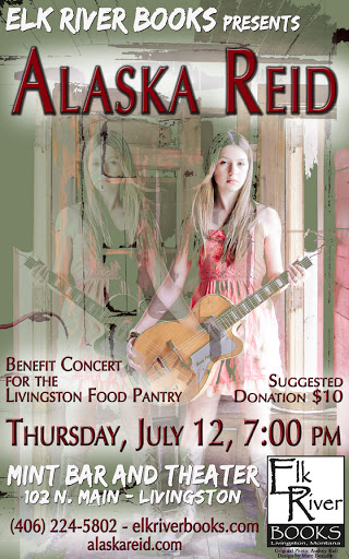 Image for Alaska Reid Poster, 12 July 2012