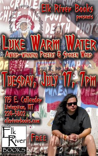 Luke Warm Water Poster, 17 July 2012