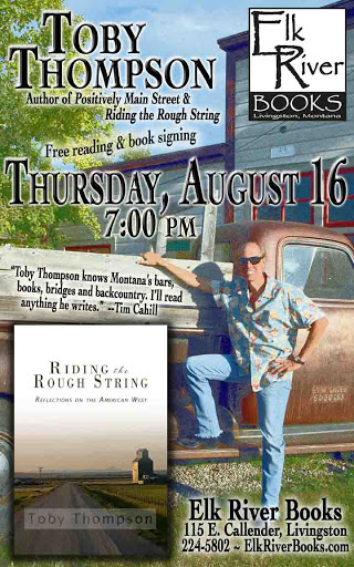 "Image for Toby Thompson ""Riding the Rough String"" Poster, 16 August 2012"