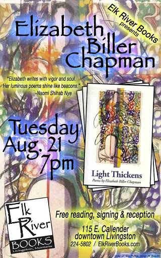 Image for Elizabeth Biller Chapman Poster, 21 August 2012