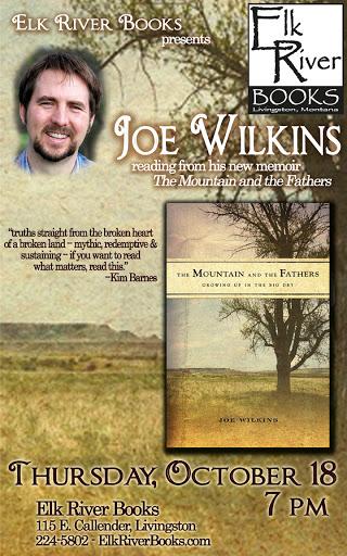 Joe Wilkins Poster, 18 October 2012