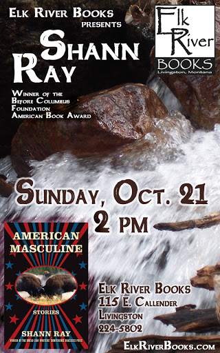 "Image for Shann Ray ""American Masculine"" Poster, 21 October 2012"