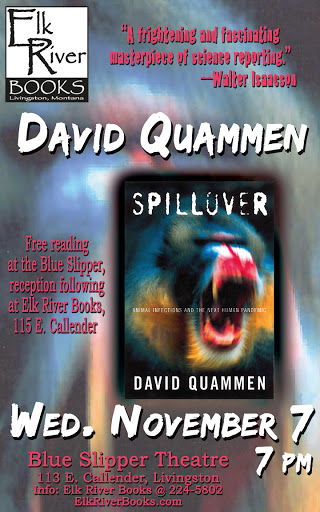 Image for David Quammen Poster, 07 November 2012