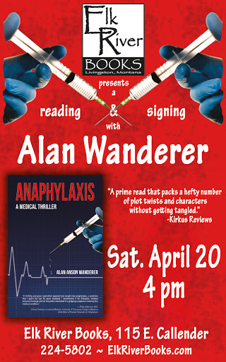 Image for Alan Wanderer Poster, 20 April 2013