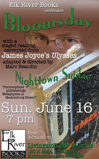 Image for Bloomsday Poster, 16 June 2013