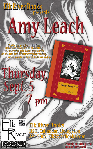 Image for Amy Leach Poster, 05 September 2013