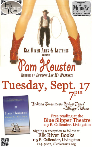 Image for Pam Houston Poster, 17 September 2013