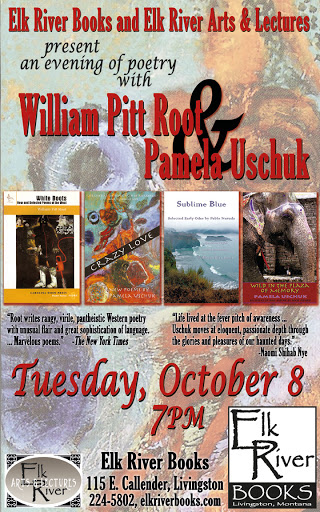 Image for William Pitt Root and Pamela Uschuk Poster, 08 October 2013