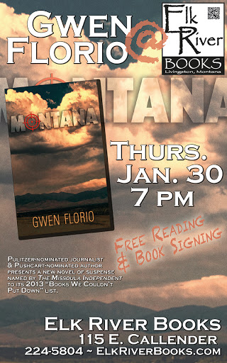 "Image for Gwen Florio ""Montana"" Poster, 30 January 2014"