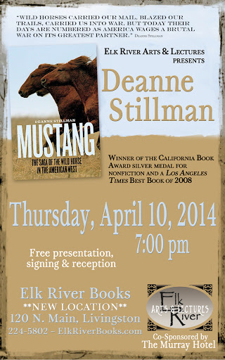 Image for Deanne Stillman Poster, 10 April 2014