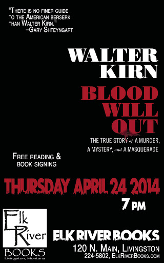 Image for Walter Kirn Poster, 24 May 2014