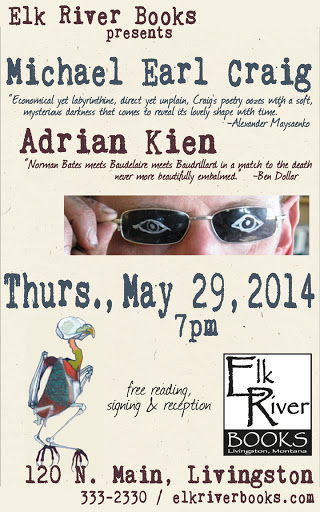 Image for Michael Earl Craig and Adrian Kien Poster, 29 May 2014