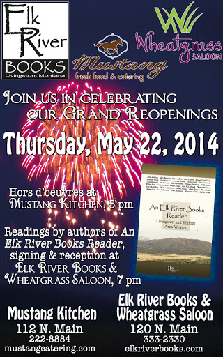 Image for Elk River Books 3rd Anniversary Poster, 22 May 2014