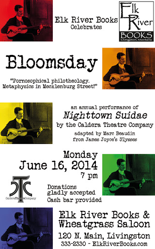 Image for Bloomsday Poster, 16 June 2014