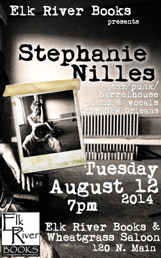 Image for Stephanie Nilles Concert Poster, 12 August 2014