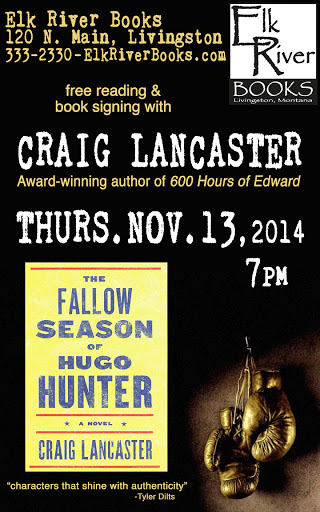 Image for Craig Lancaster Poster, 13 November 2014