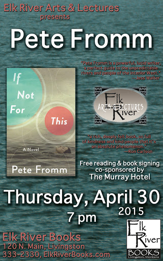 Image for Pete Fromm Poster, 30 April 2015