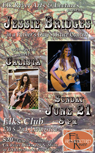 Image for Jessie Bridges wsg Calista Concert Poster, 21 June 2015