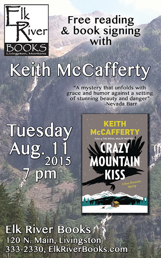 Image for Keith McCafferty Poster, 11 August 2015