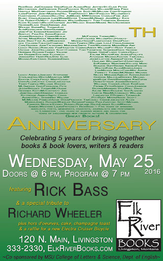 Image for Elk River Books 5th Anniversary Poster, 25 May 2016