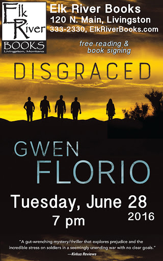 "Image for Gwen Florio ""Disgraced"" Poster, 28 June 2016"