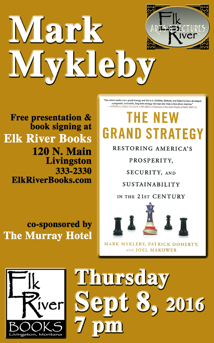 "Image for Mark Mykleby ""The New Grand Strategy"" Poster, 08 September 2016"
