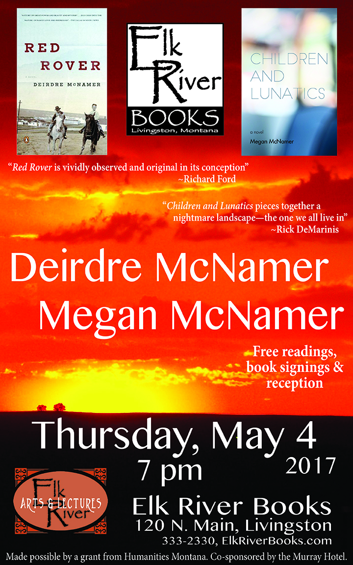 Image for Deirdre and Megan McNamer Poster, 20 April 2017