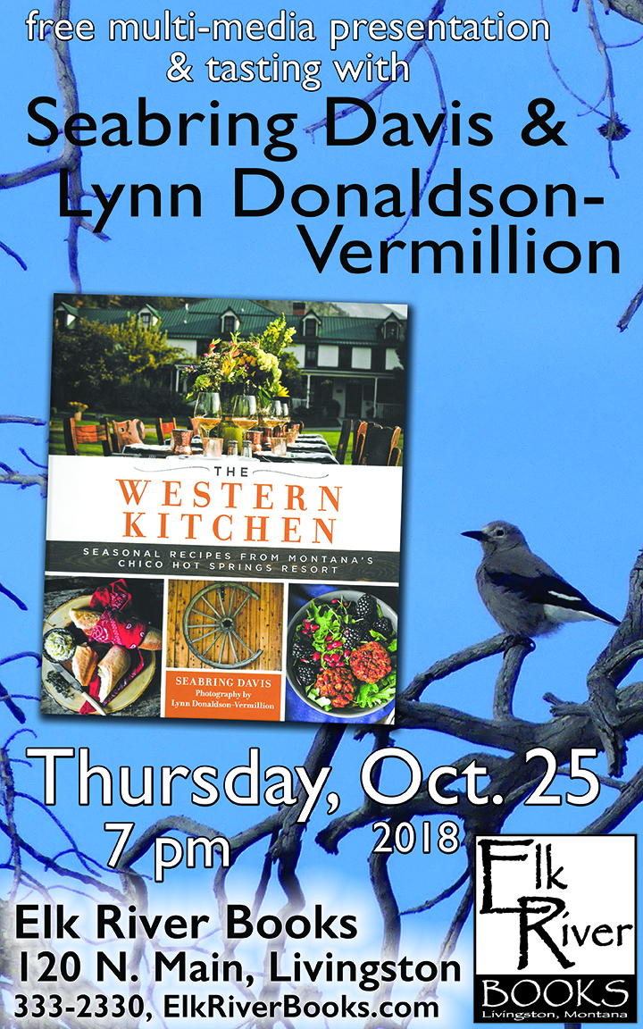 Image for Seabring Davis and Lynn Donaldson-Vermillion event poster for The Western Kitchen, 57 October 2018