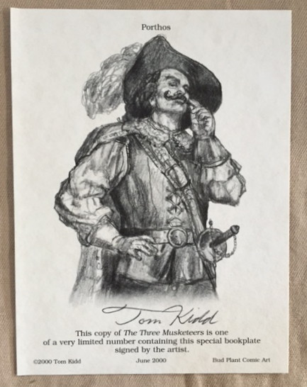 Image for The Three Musketeers (Books of Wonder)