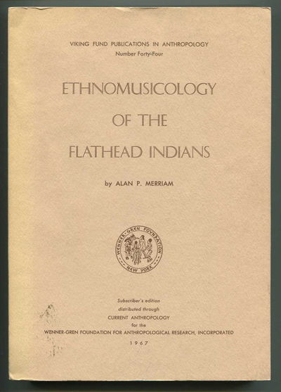 Image for Ethnomusicology of the Flathead Indians