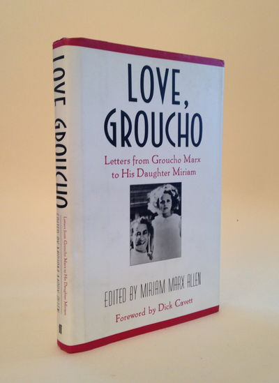 Image for Love, Groucho: Letters from Groucho Marx to His Daughter Miriam