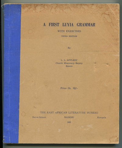 Image for A First Luyia Grammar with Excercises