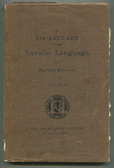 Image for A Vocabulary of the Navaho Language, Vol 2