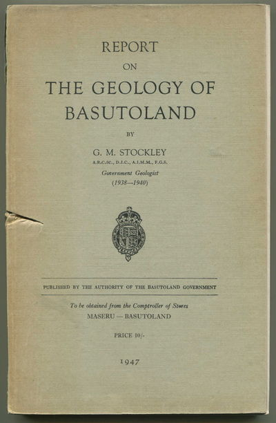 Image for Report on the Geology of Basutoland