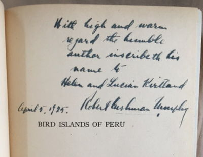 Image for Bird Islands of Peru: The Record of a Sojourn on the West Coast