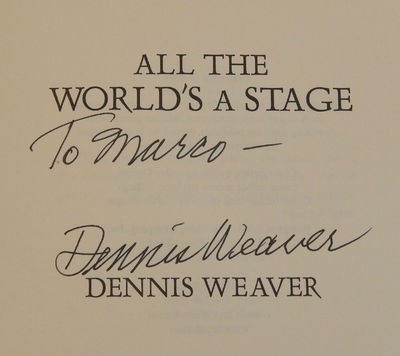 Image for All the World's a Stage